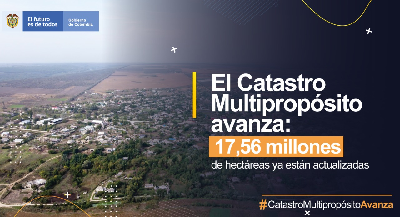 Catastro multripropósitio avanza