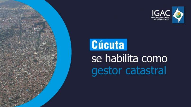 Cúcuta gestor catastral