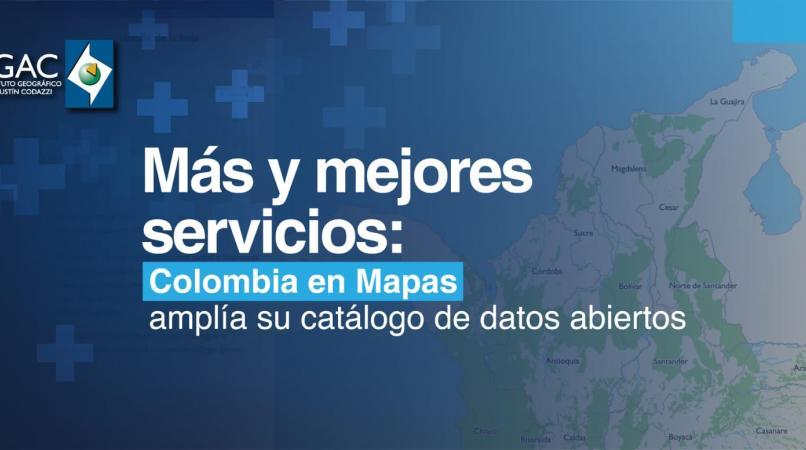 Colombia en mapas