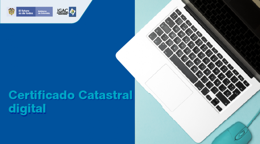 Certificado catastral digital